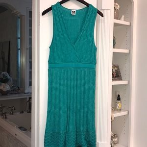 TEAL  Missoni fit and flare